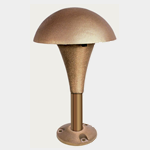 SEA TURTLE FRIENDLY - FWC APPROVED - CAST MUSHROOM LANDSCAPE PATHWAY LIGHTING FIXTURE