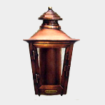 SEA TURTLE LIGHT FIXTURE - FWC APPROVED WALL MOUNT - COPPER SMITH ADAMS STREET